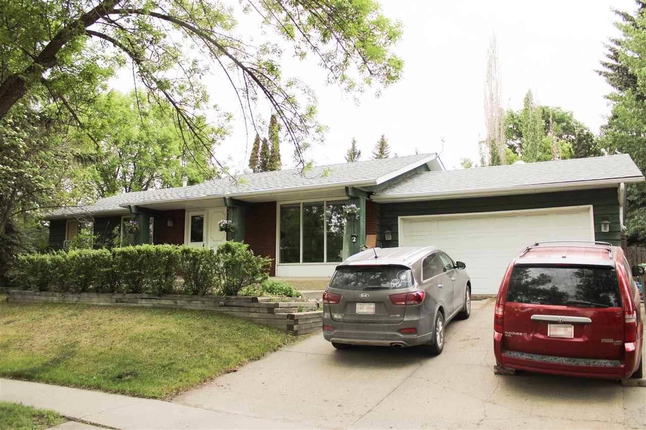 House for sale at 2 Graham Ave St. Albert Alberta - MLS: E4160523