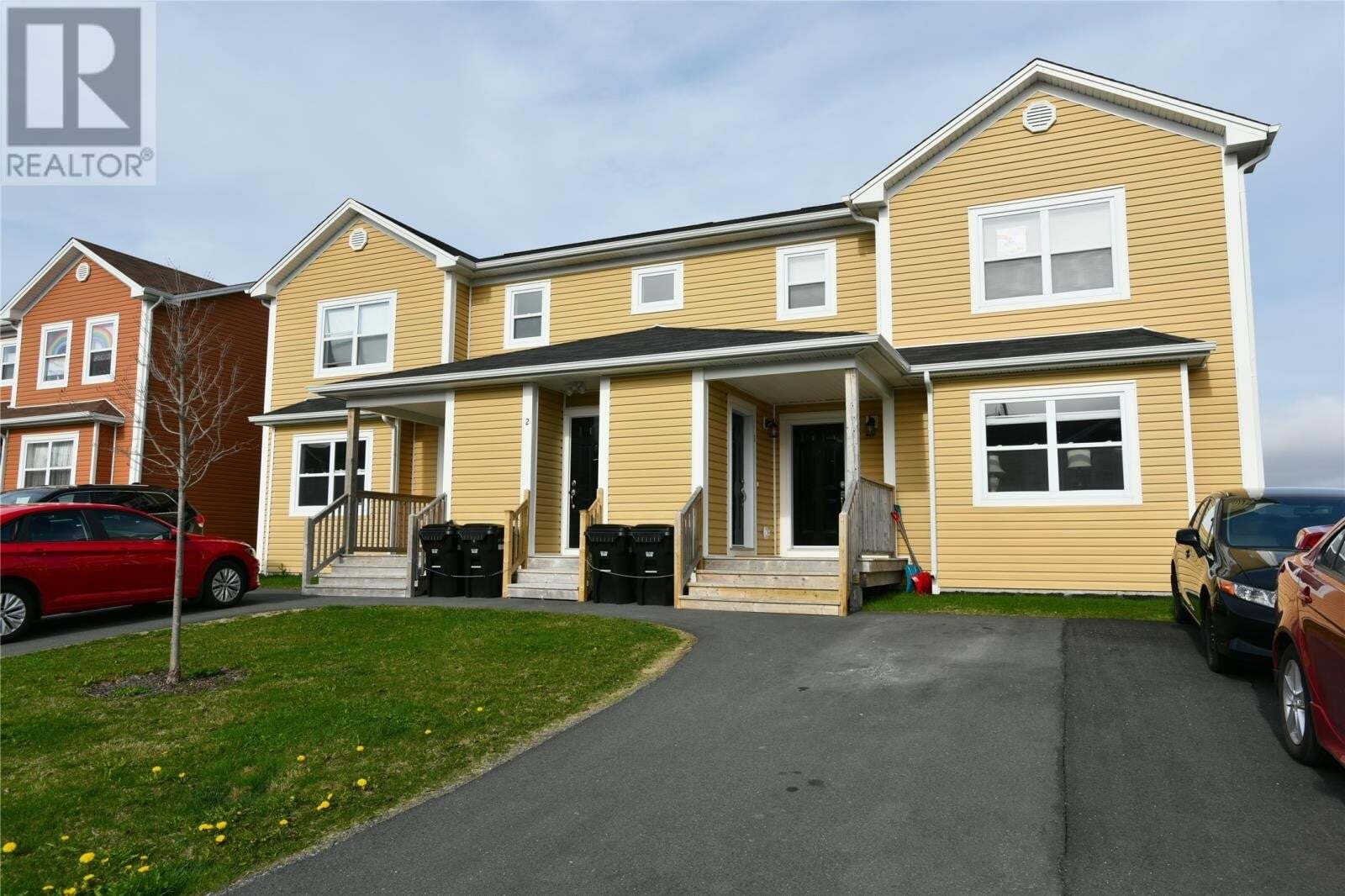 House for sale at 2 Guernsey Pl St. John's Newfoundland - MLS: 1214317
