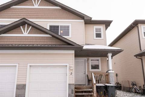 Townhouse for sale at 2 Hartwick Landng Spruce Grove Alberta - MLS: E4143053