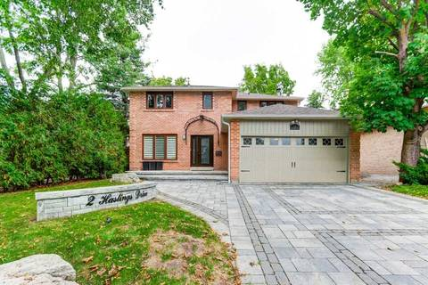 House for sale at 2 Hastings Dr Markham Ontario - MLS: N4604166