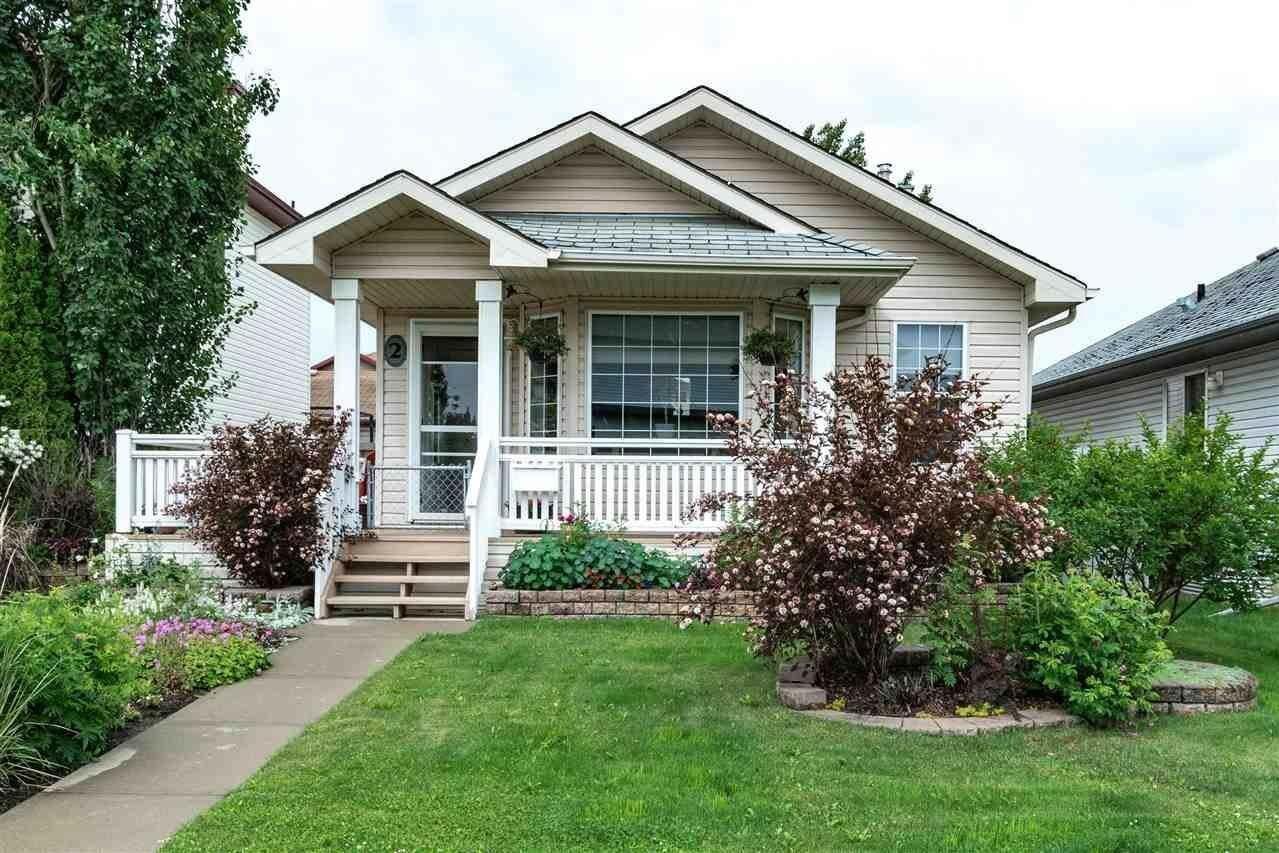 House for sale at 2 Heatherglen Cl Spruce Grove Alberta - MLS: E4204777