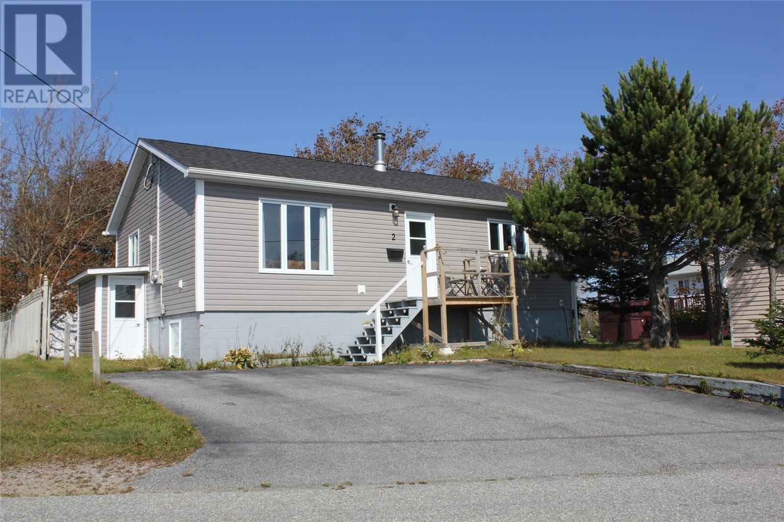 House for sale at 2 Hillcrest Dr Stephenville Newfoundland - MLS: 1203363