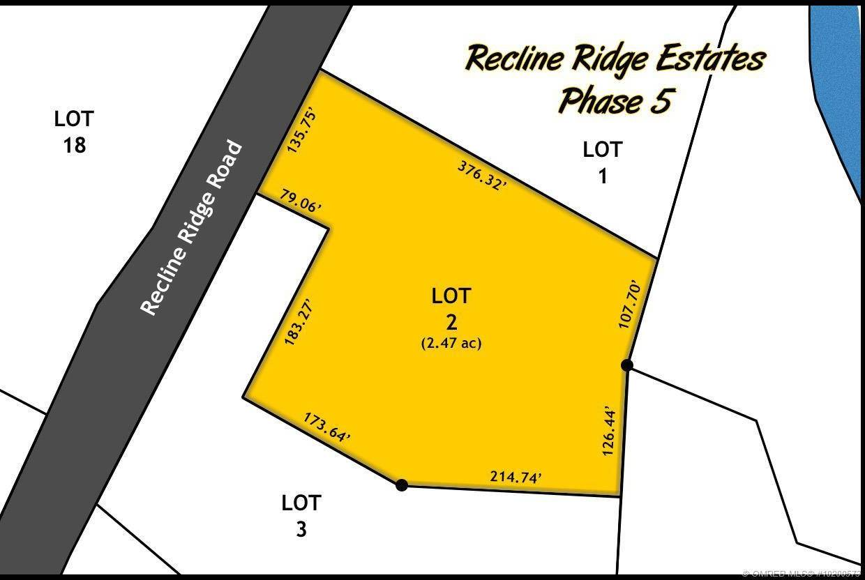 Home for sale at Lot 2 Recline Ridge Rd Unit 2 Tappen British Columbia - MLS: 10200573