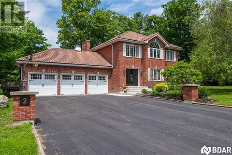 House for sale at 2 Mostar Ct Springwater Ontario - MLS: 30730729