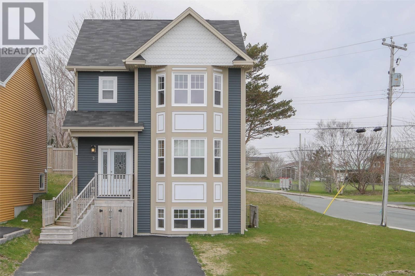 House for sale at 2 Parkridge Dr St. John's Newfoundland - MLS: 1198920