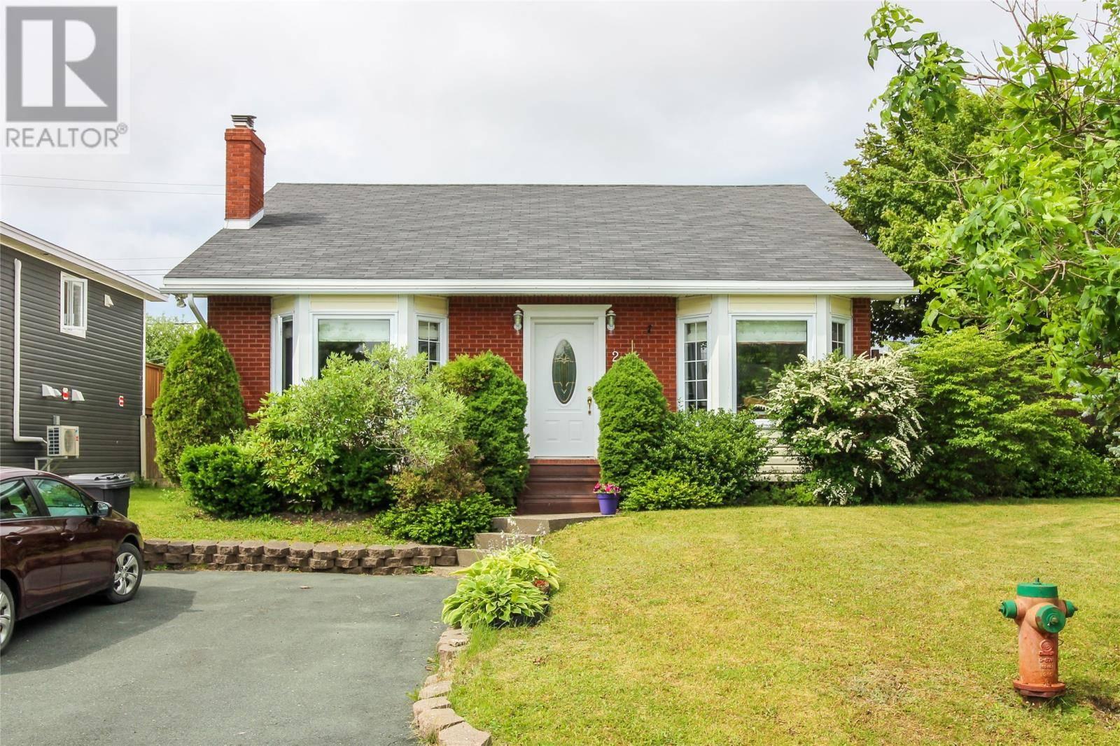 House for sale at 2 Samson St Mount Pearl Newfoundland - MLS: 1200565