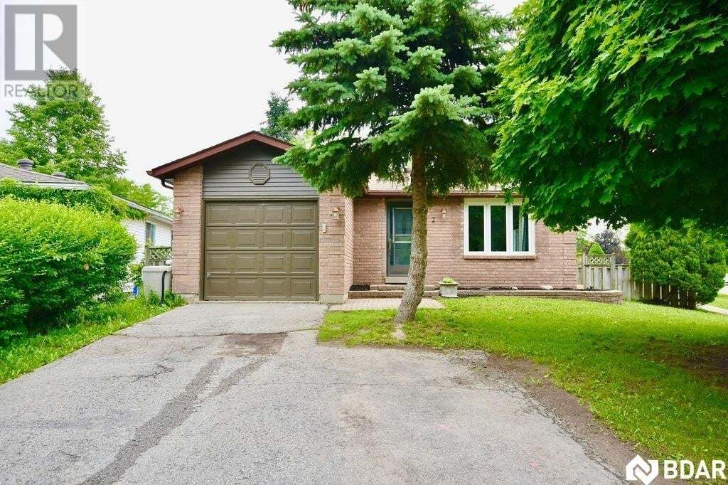 House for sale at 2 Sinclair Ct Barrie Ontario - MLS: 30826404