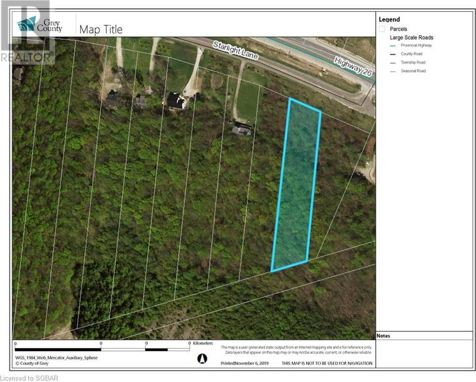 Residential property for sale at 2 Starlight Ln Meaford Ontario - MLS: 229292