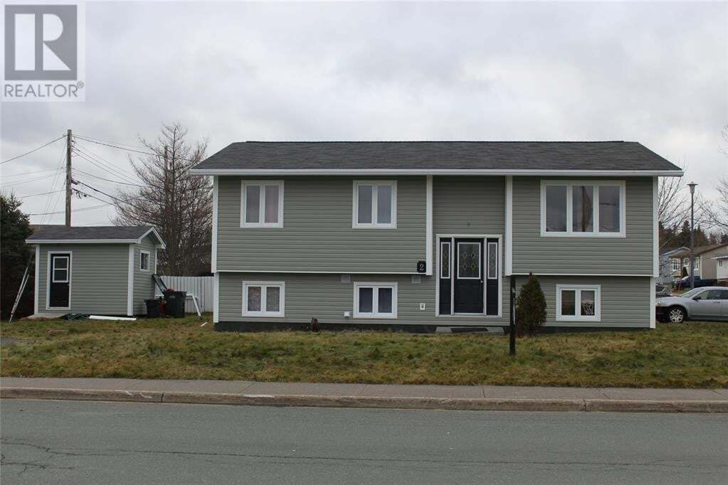 House for sale at 2 Stephanie Ave Paradise Newfoundland - MLS: 1217468