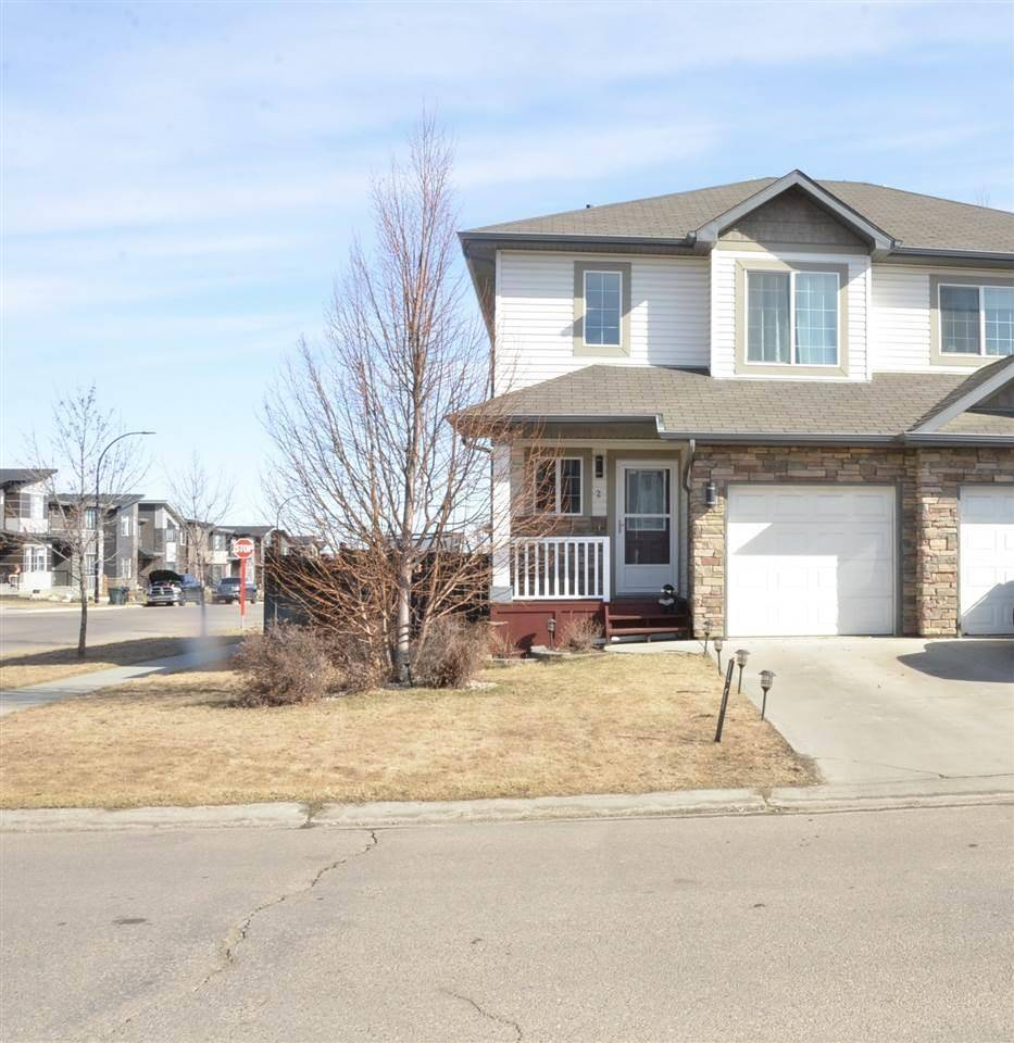 Townhouse for sale at 2 Vanessa Ave Spruce Grove Alberta - MLS: E4190497