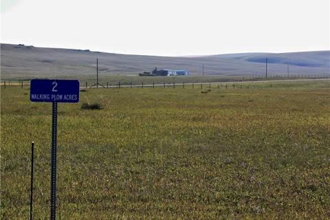 Residential property for sale at 2 Walking Plow Estates  Rural Pincher Creek Md Alberta - MLS: LD0144002