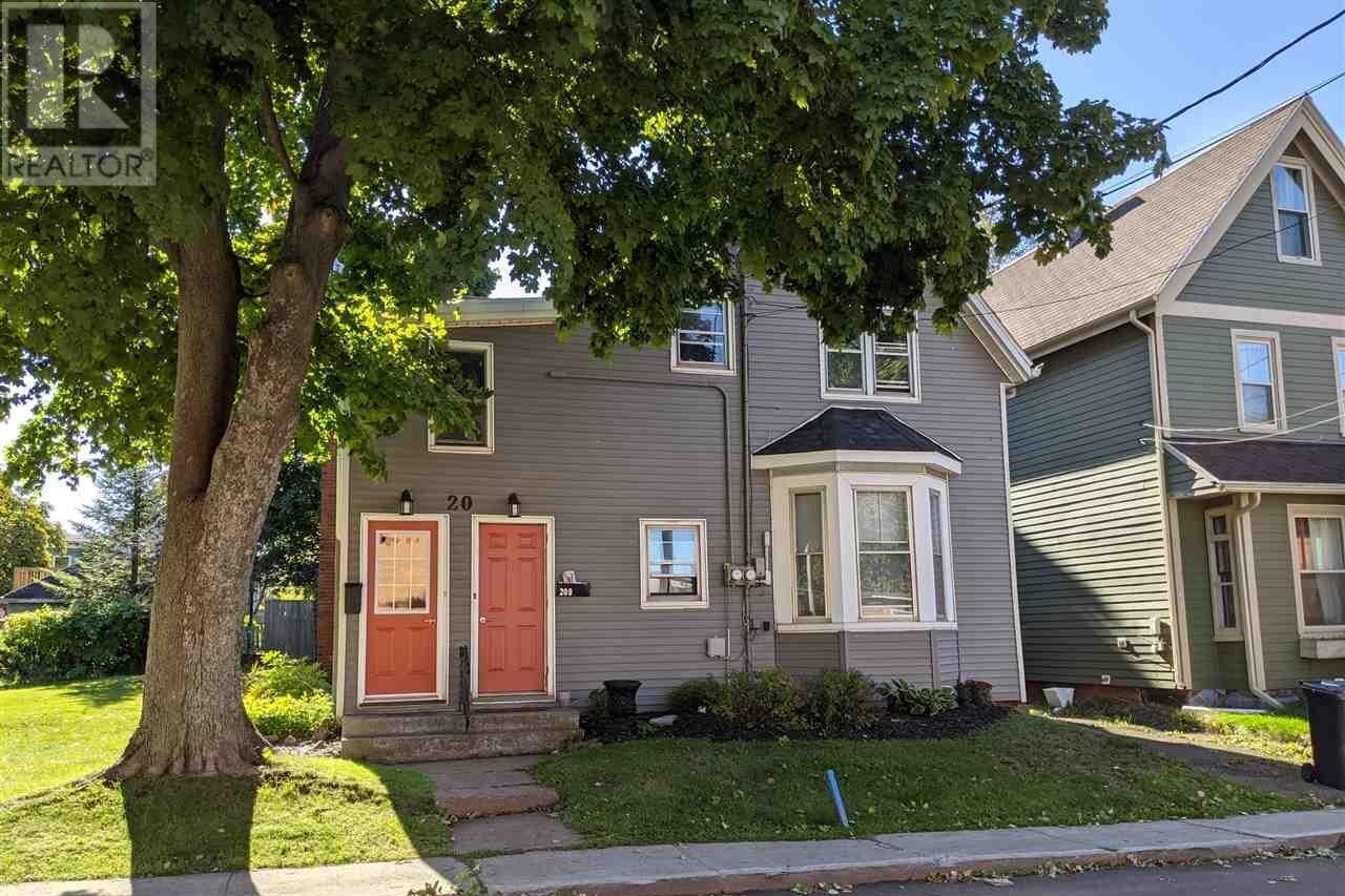 Townhouse for sale at 20 & 20a Stewart St Charlottetown Prince Edward Island - MLS: 202019876