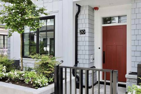 Townhouse for sale at 1133 Ridgewood Dr Unit 20 North Vancouver British Columbia - MLS: R2350886