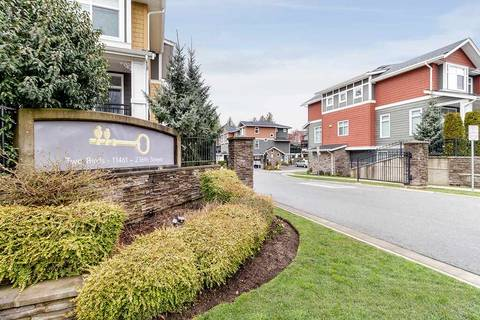 Townhouse for sale at 11461 236 St Unit 20 Maple Ridge British Columbia - MLS: R2448285