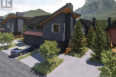 Townhouse for sale at 1200 Three Sisters Pw Unit 20 Canmore Alberta - MLS: 49249