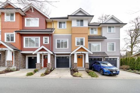 Townhouse for sale at 1219 Burke Mountain St Unit 20 Coquitlam British Columbia - MLS: R2447299