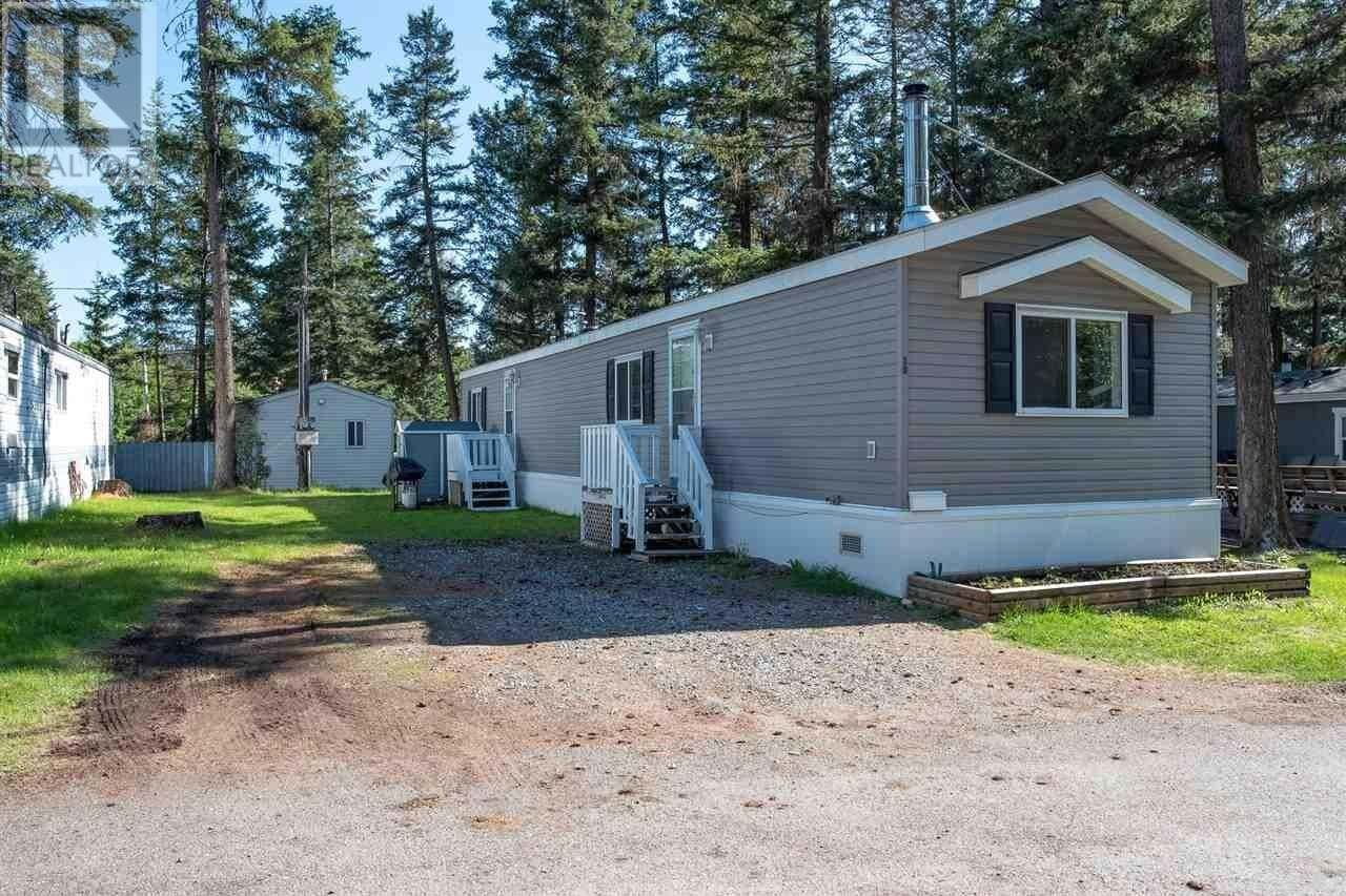Residential property for sale at 1322 Dog Creek Rd Unit 20 Williams Lake British Columbia - MLS: R2460078