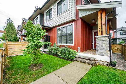 Townhouse for sale at 13260 236 St Unit 20 Maple Ridge British Columbia - MLS: R2388442