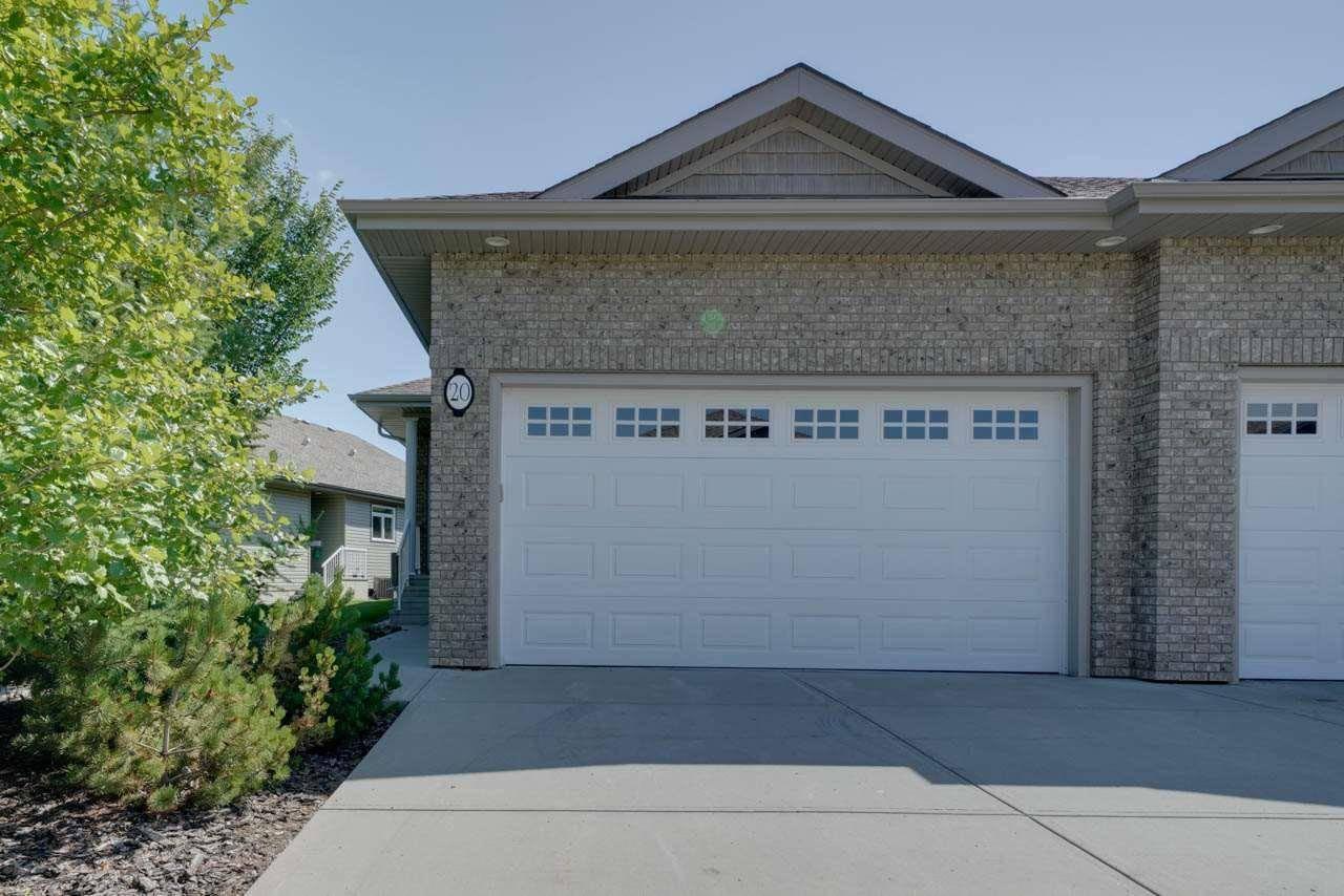 Townhouse for sale at 1407 Glastonbury Blvd Nw Unit 20 Edmonton Alberta - MLS: E4166937