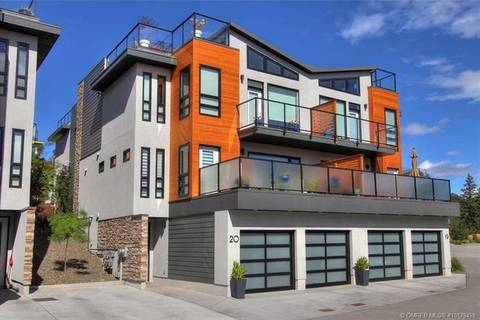 Townhouse for sale at 1818 Peak Point Ct Unit 20 West Kelowna British Columbia - MLS: 10179498