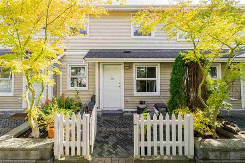 Townhouse for sale at 188 Sixth St Unit 20 New Westminster British Columbia - MLS: R2407500