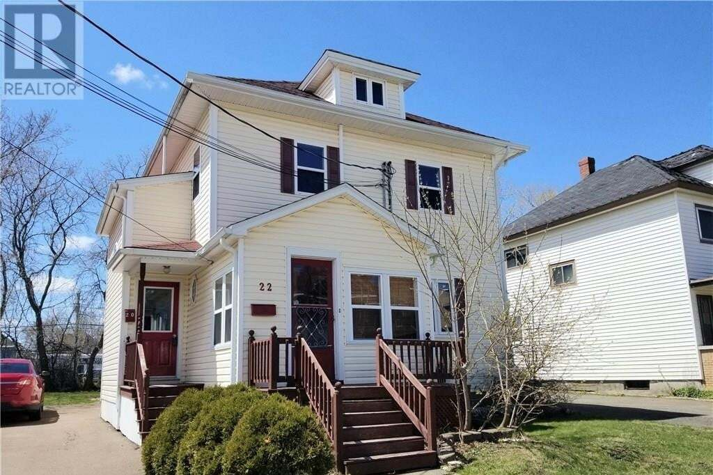 Townhouse for sale at 20 Pine St Moncton New Brunswick - MLS: M128351