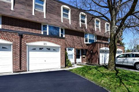 Condo for sale at 235 Bronte St Unit 20 Milton Ontario - MLS: W4755882