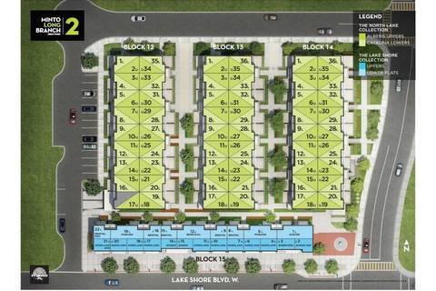 Condo for sale at 3580 Lakeshore Blvd Unit 20 Toronto Ontario - MLS: W4438526