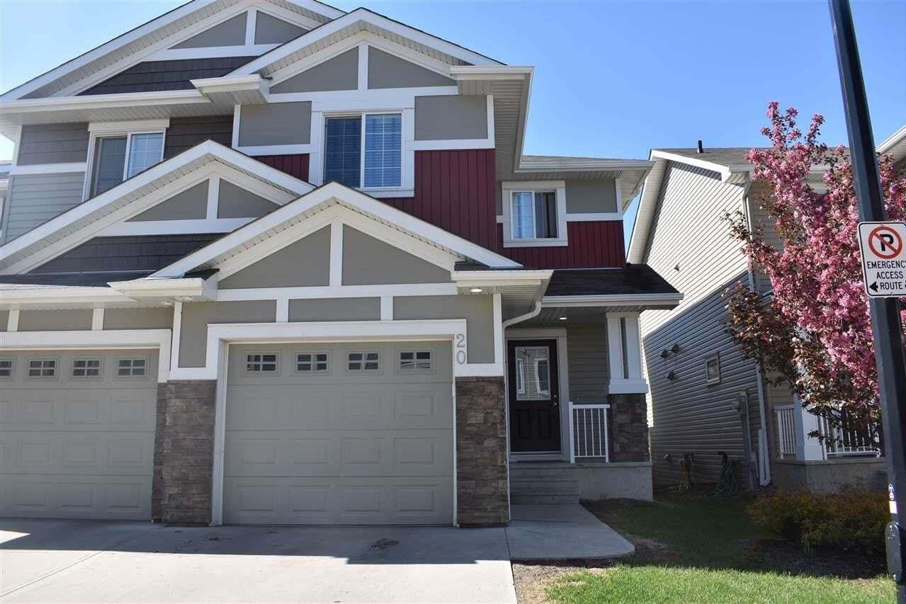 Townhouse for sale at 5317 3 Av SW Unit 20 Edmonton Alberta - MLS: E4199353