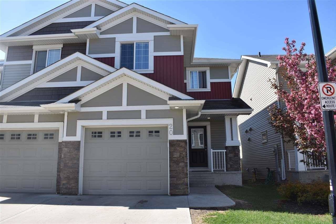 Townhouse for sale at 5317 3 Av SW Unit 20 Edmonton Alberta - MLS: E4225446