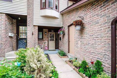 Condo for sale at 6040 Montevideo Rd Unit 20 Mississauga Ontario - MLS: W4544007