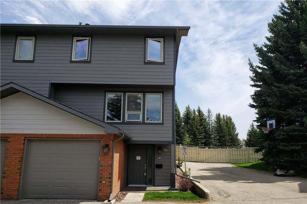Townhouse for sale at 64 Woodacres Cr SW Unit 20 Woodbine, Calgary Alberta - MLS: C4281931