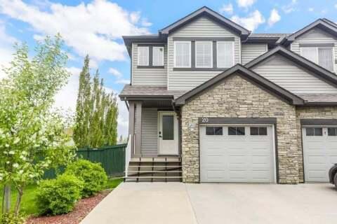 Townhouse for sale at 9231 213 St NW Unit 20 Edmonton Alberta - MLS: E4199089