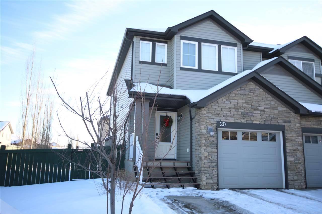 Townhouse for sale at 9231 213 St Nw Unit 20 Edmonton Alberta - MLS: E4184356