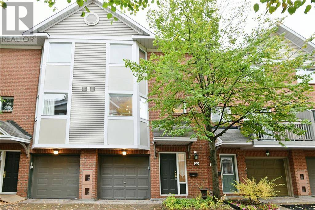 Townhouse for sale at 20 Academy Pt Ottawa Ontario - MLS: 1172625