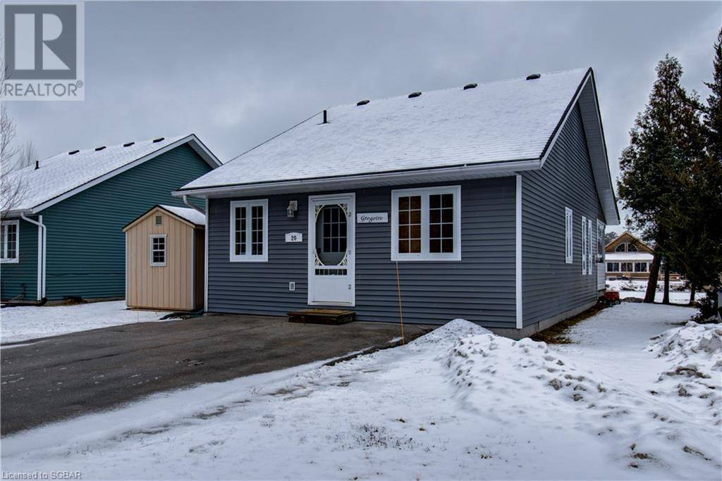 House for sale at 20 Algonquin Tr Wasaga Beach Ontario - MLS: 252574