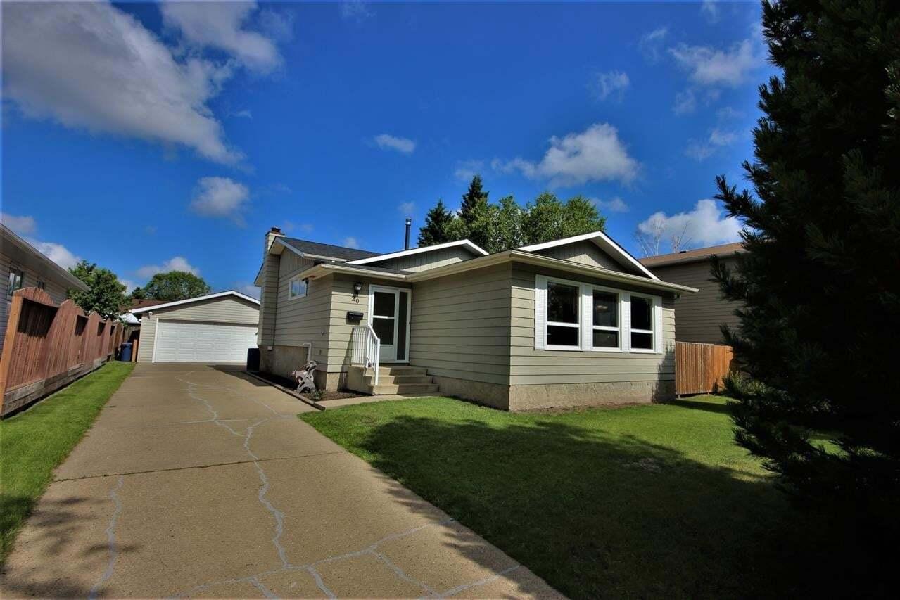 House for sale at 20 Ash Cr St. Albert Alberta - MLS: E4205399