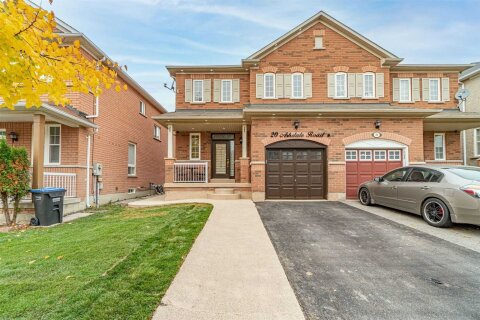 Townhouse for sale at 20 Ashdale Rd Brampton Ontario - MLS: W4973617