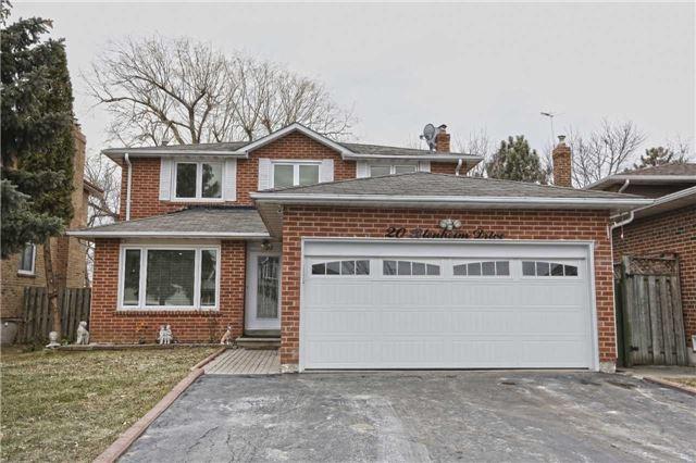 Sold: 20 Blenheim Drive, Brampton, ON