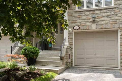 Townhouse for sale at 20 Brownstone Ln Toronto Ontario - MLS: W4513687