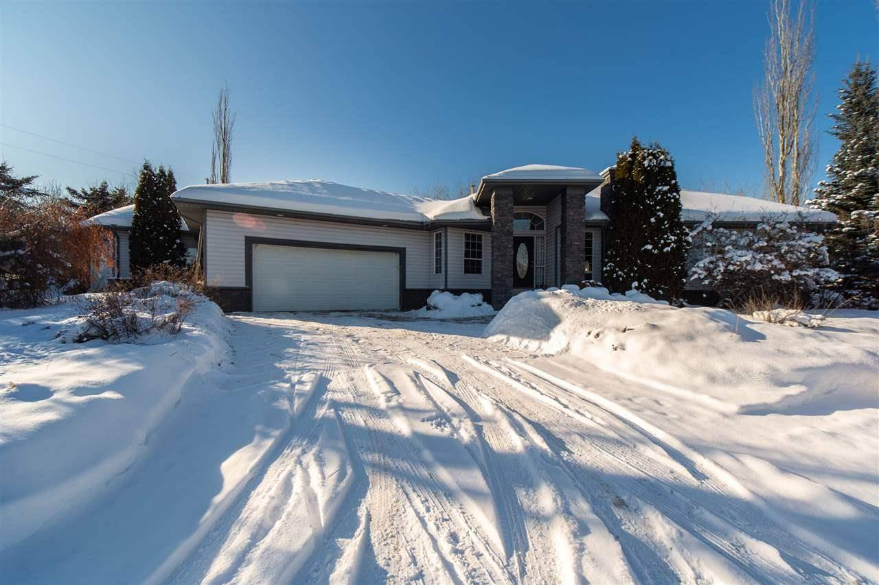 House for sale at 20 Cambrae Dr W Rural Sturgeon County Alberta - MLS: E4188057