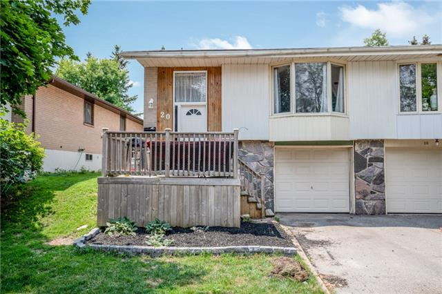 For Sale: 20 Cardwell Street, Orangeville, ON | 3 Bed, 1 Bath Townhouse for $419,900. See 17 photos!