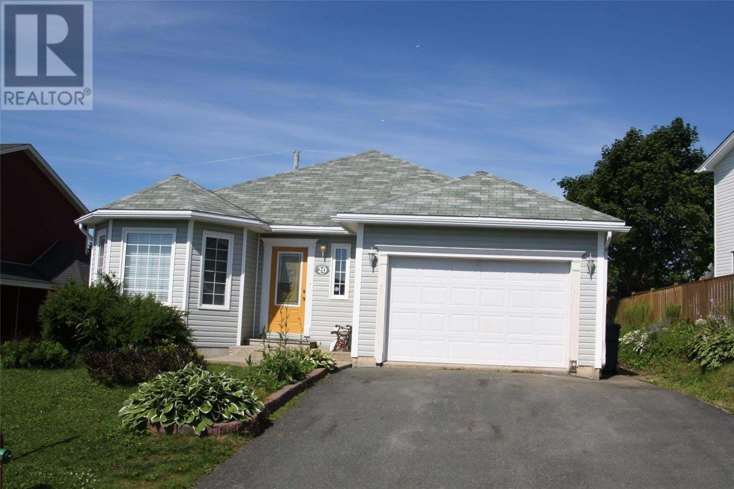 House for sale at 20 Castors Dr Mt. Pearl Newfoundland - MLS: 1218473