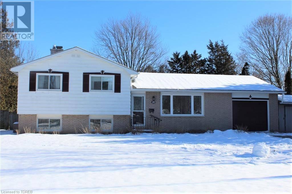 House for sale at 20 Charlotte Ave Tillsonburg Ontario - MLS: 241032