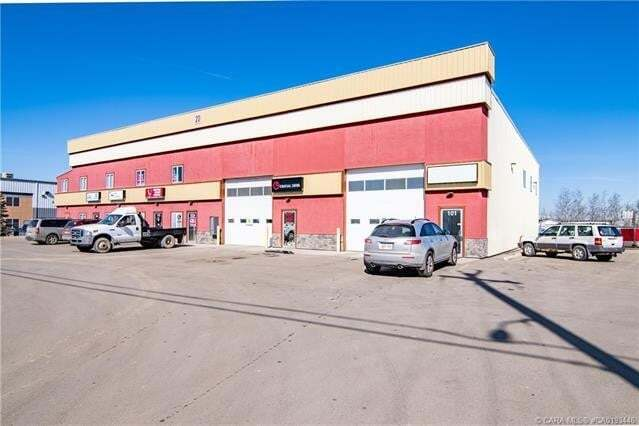 Commercial property for sale at 20 Cuendet Industrial Wy Sylvan Lake Alberta - MLS: CA0193446