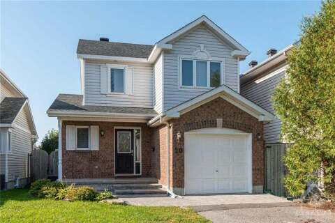 House for sale at 20 Daventry Cres Ottawa Ontario - MLS: 1211789