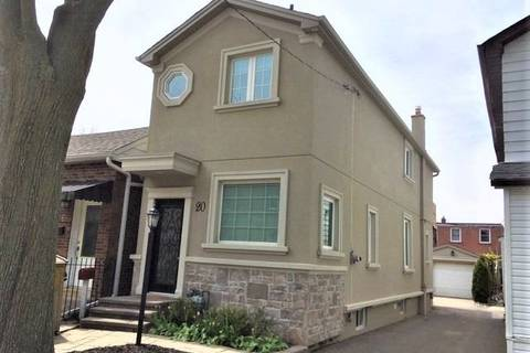 House for rent at 20 Drayton Ave Toronto Ontario - MLS: E4754681