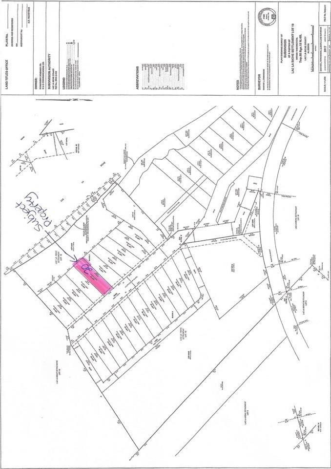 Residential property for sale at 20 Eagle Haunt Estates Rural Lac La Biche County Alberta - MLS: E4175376