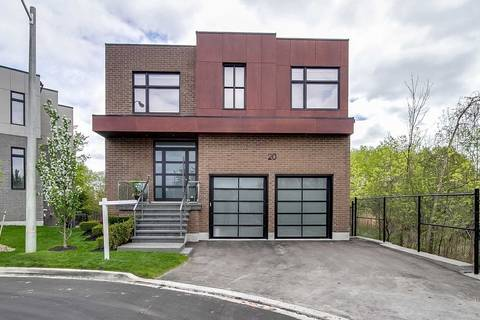 House for sale at 20 Elaine Lennox Ct Toronto Ontario - MLS: E4661783