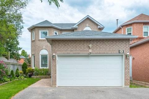 House for sale at 20 Fieldnest Cres Whitby Ontario - MLS: E4444220